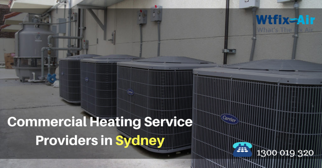 commercial heating service providers in Sydney