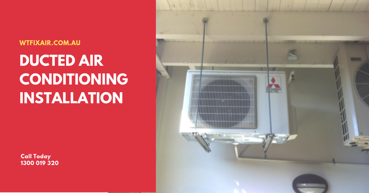 Ducted Air Conditioning Installation Melbourne Brisbane