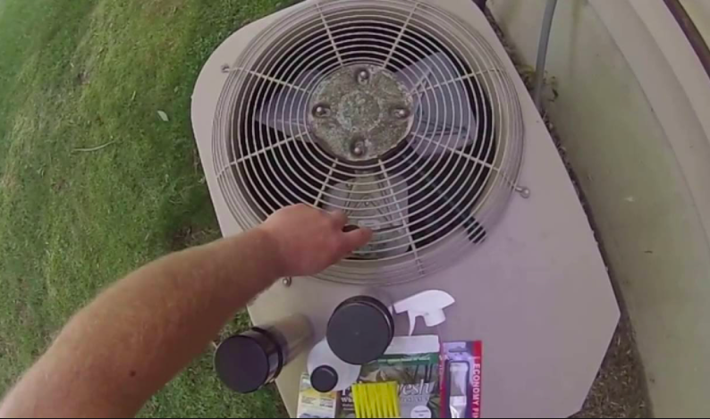 Air Conditioner Outdoor Fan Not Spinning
